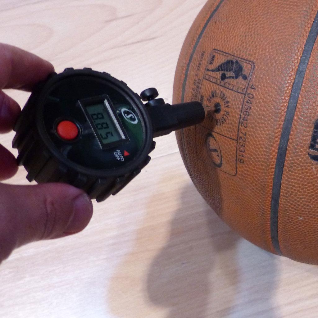 Medidor electrónico presión inflado, manómetro Spalding