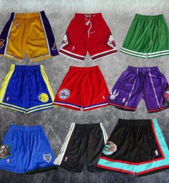 Shorts NBA. Swingman. Los Angeles Lakers, Chicago Bulls, Boston Celtics, Golden State Warriors, Philadelphia 76ers, Toronto Raptors, Minnestota Timberwolvers, San Antonio Spurs, Vancouver Grizzlies. Basketspirit Madrid